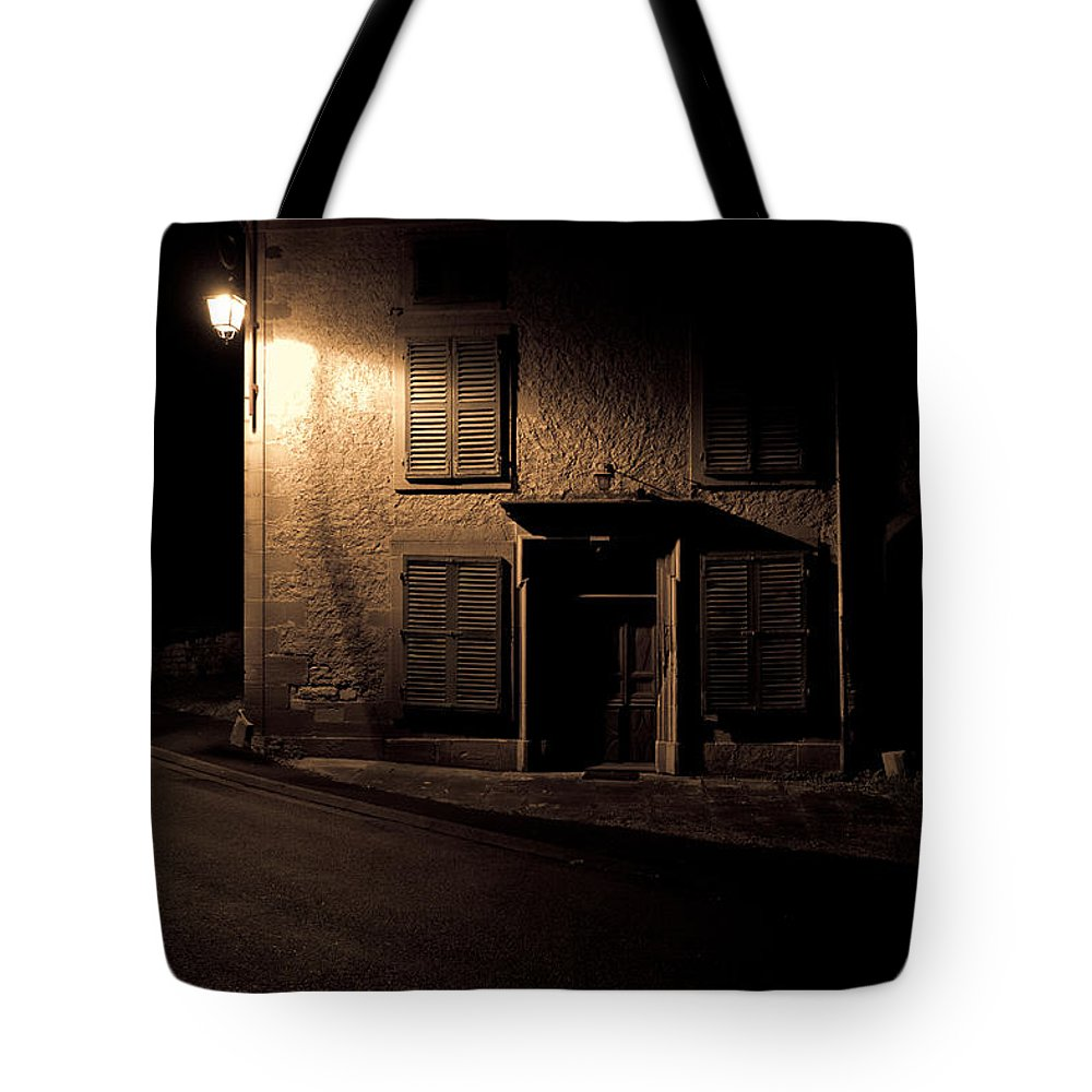 Abandoned Tote Bag featuring the photograph In The Dead Of Night by Brothers Beerens