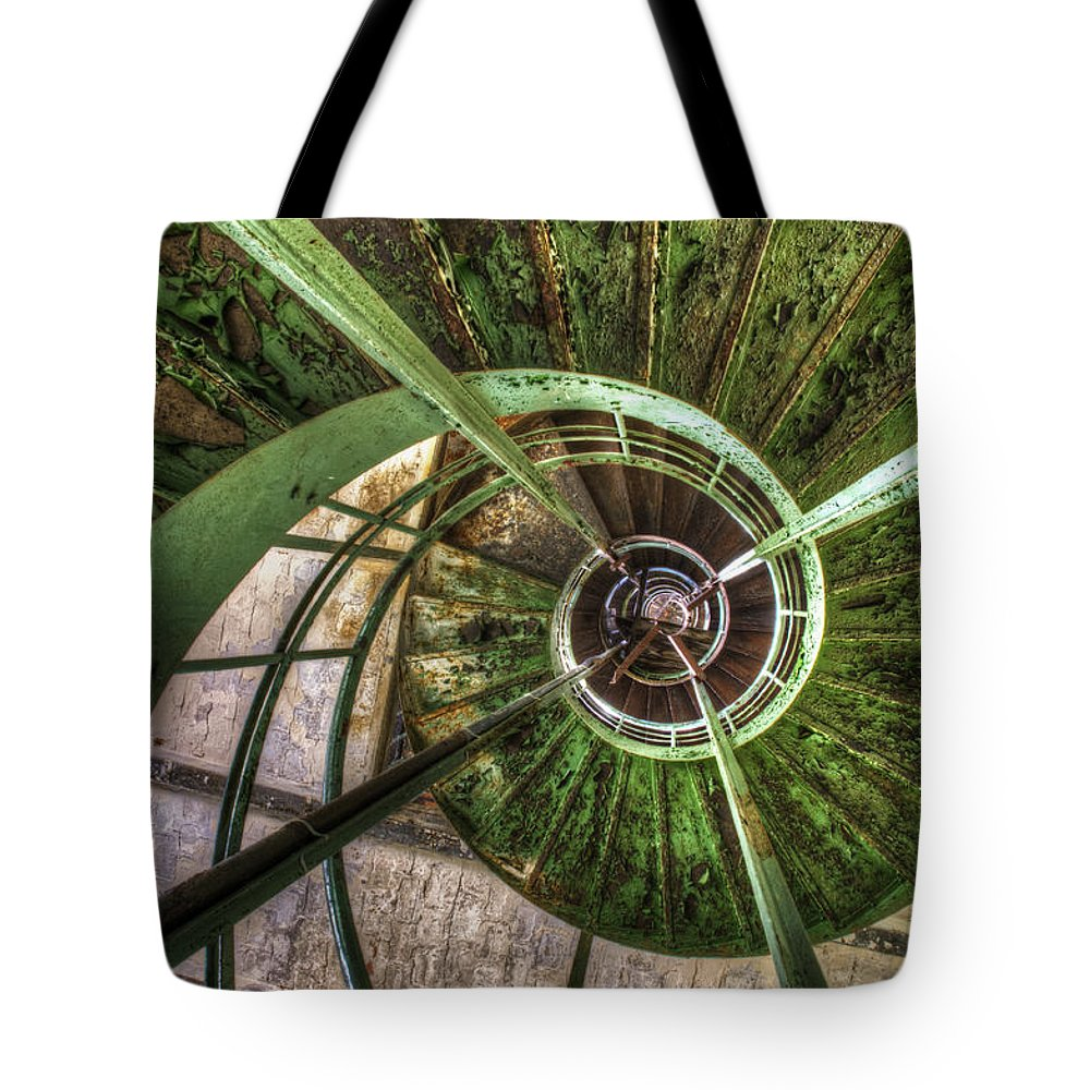 Ubex Tote Bag featuring the digital art In The Eye Of The Spiral by Nathan Wright
