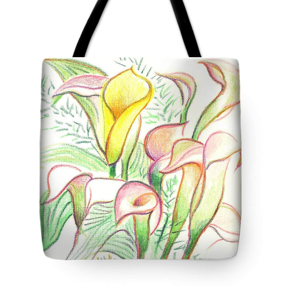 In The Golden Afternoon Tote Bag featuring the painting In The Golden Afternoon by Kip DeVore