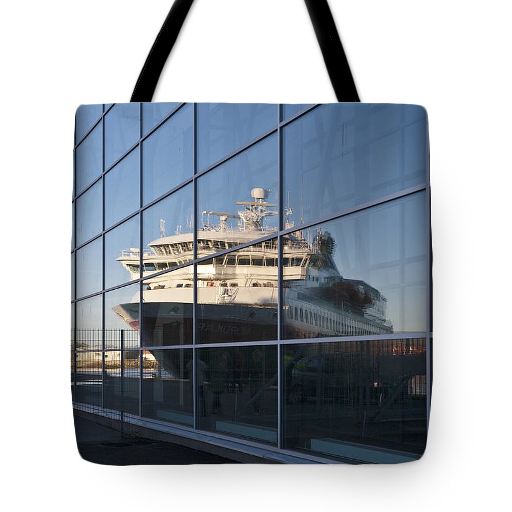 Heiko Tote Bag featuring the photograph In The Mirror by Heiko Koehrer-Wagner