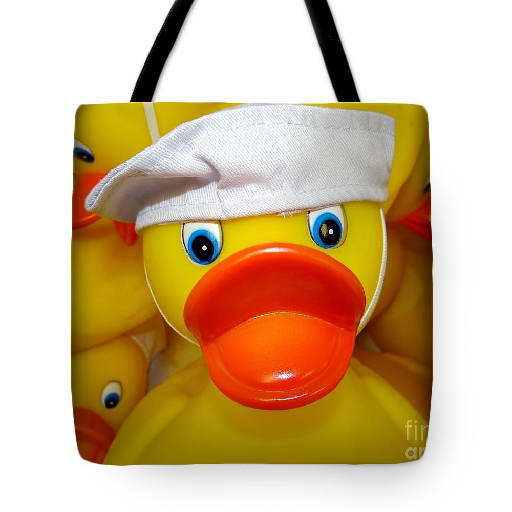 Yellow Tote Bag featuring the photograph In The Navy by Ed Weidman