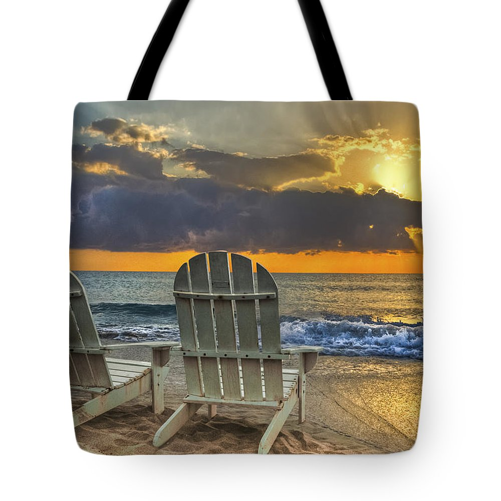 Zen Tote Bag featuring the photograph In The Spotlight by Debra and Dave Vanderlaan