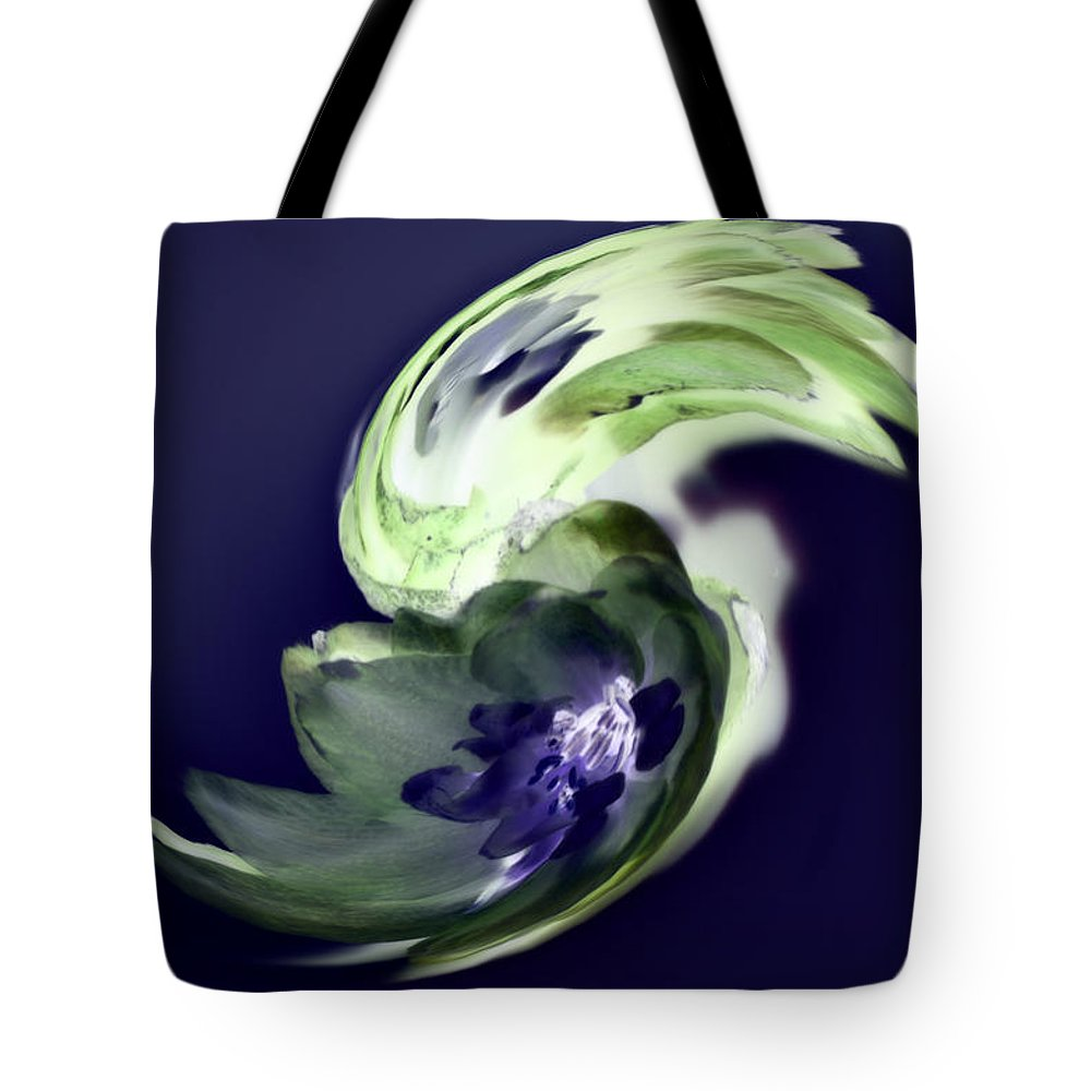 Abstract Phototgraphy Tote Bag featuring the photograph Incana abstract 1 by Paulina Roybal