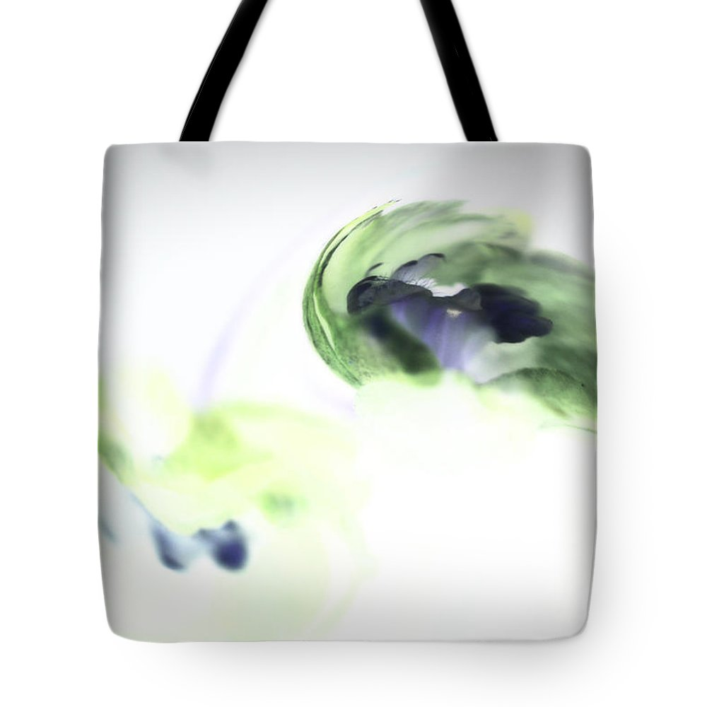Abstract Phototgraphy Tote Bag featuring the photograph Incana abstract 2 by Paulina Roybal