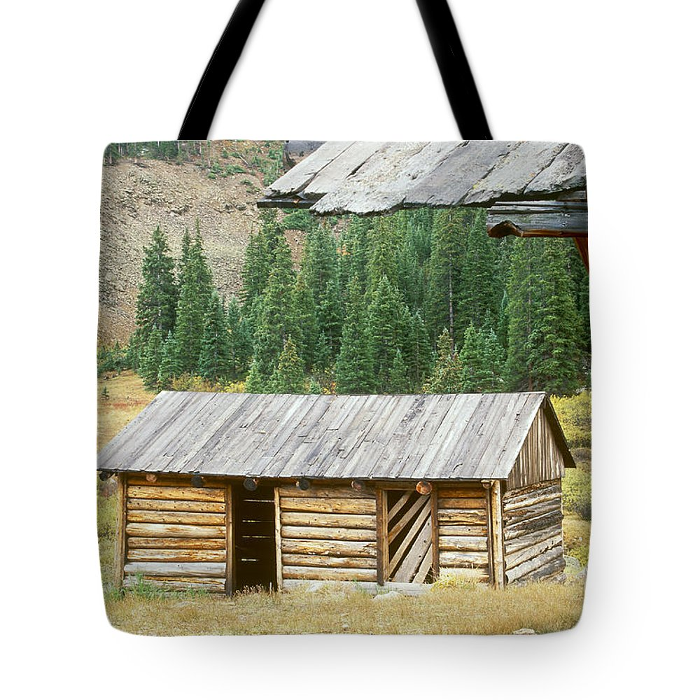 Independence Tote Bag featuring the photograph Independence Ghost Town by David Davis