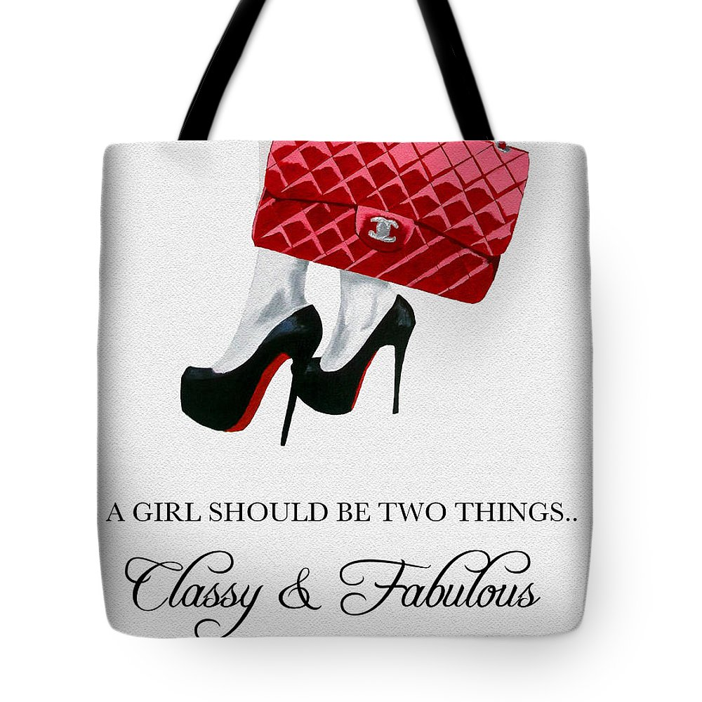 f77e55e4cde2 Fashion Tote Bag featuring the mixed media Independent Quote by My  Inspiration
