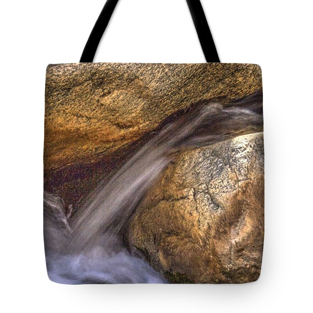 Pictorial Tote Bag featuring the photograph Indian Canyons 11 Andreas Canyon by Roger Passman