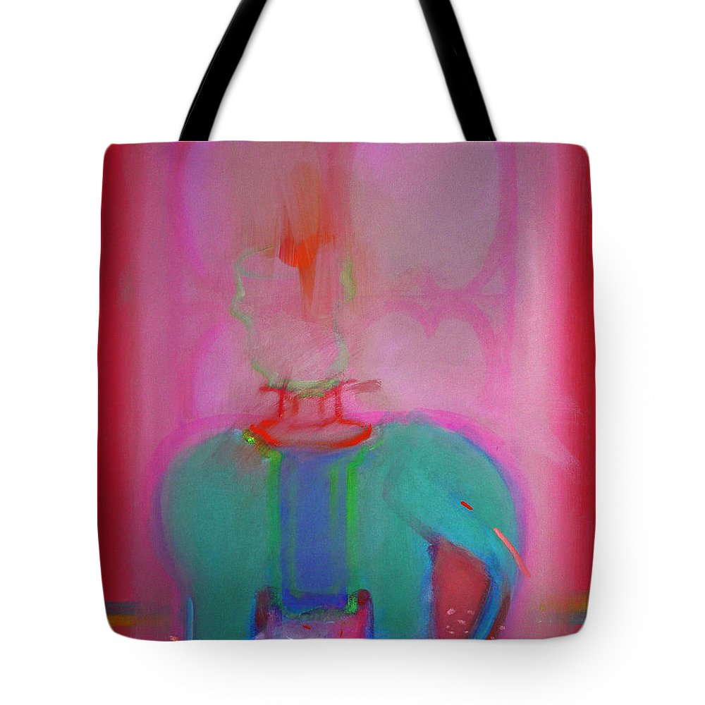 Elephant Tote Bag featuring the painting Indian Elephant by Charles Stuart