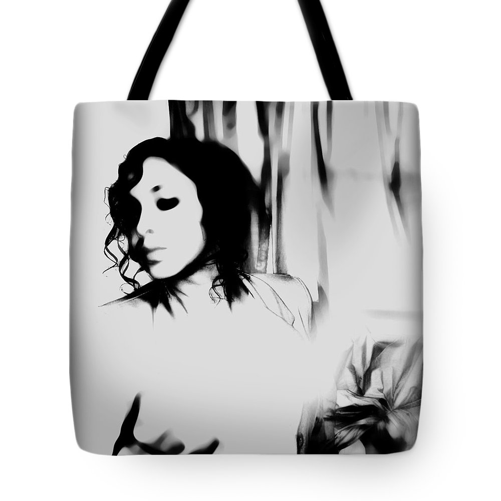Black Tote Bag featuring the photograph Indifferent by Jessica Shelton