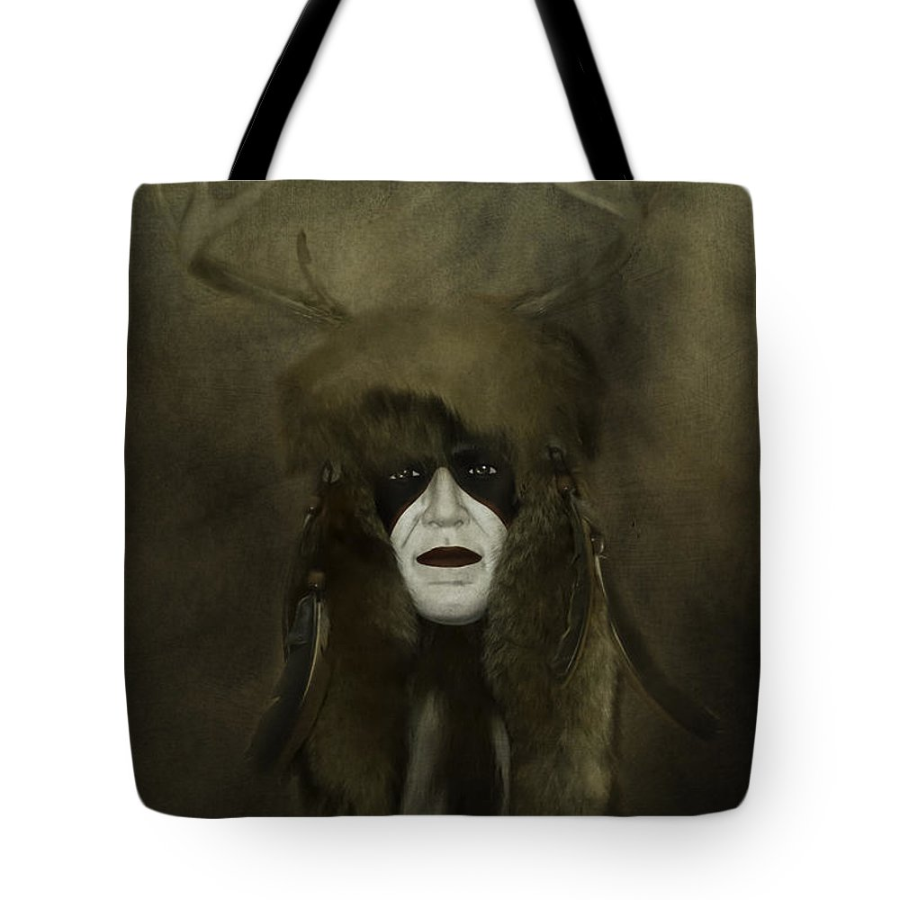 Indigenous Tote Bag featuring the photograph Indigenous by Judy Hall-Folde