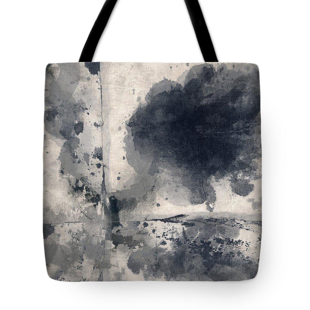 Indigo Tote Bag featuring the photograph Indigo Clouds 1 by Carol Leigh