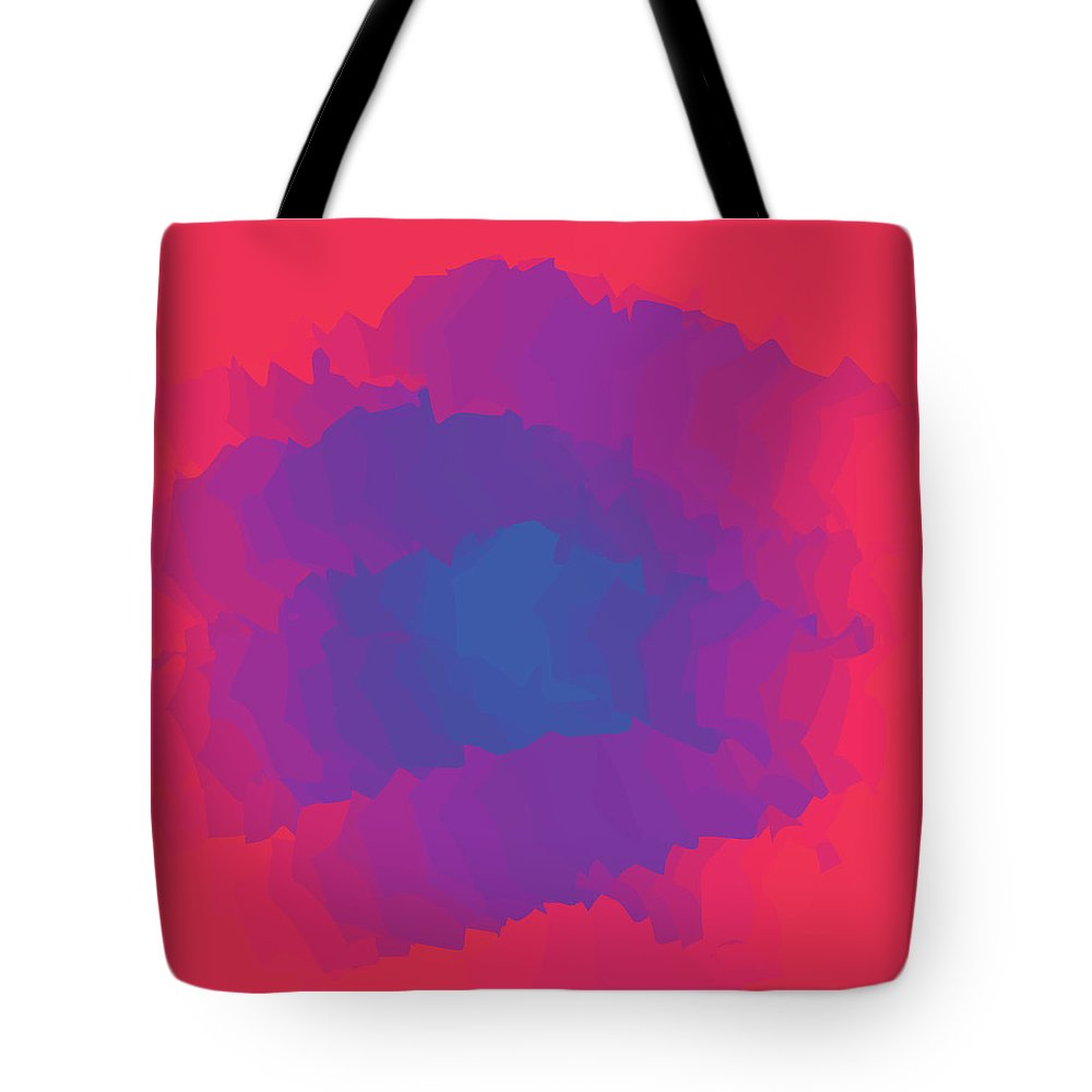Presentation Tote Bag featuring the digital art Inferno Background by Calvindexter