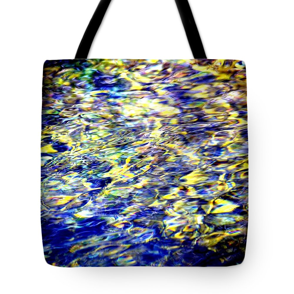 Abstract Tote Bag featuring the photograph Infinity by Deena Stoddard