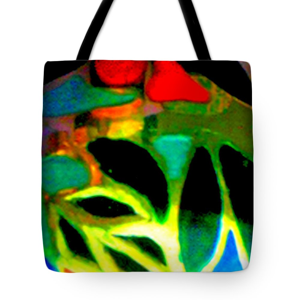 Abstract Tote Bag featuring the photograph Infinity Heartthrob by Cj Carroll