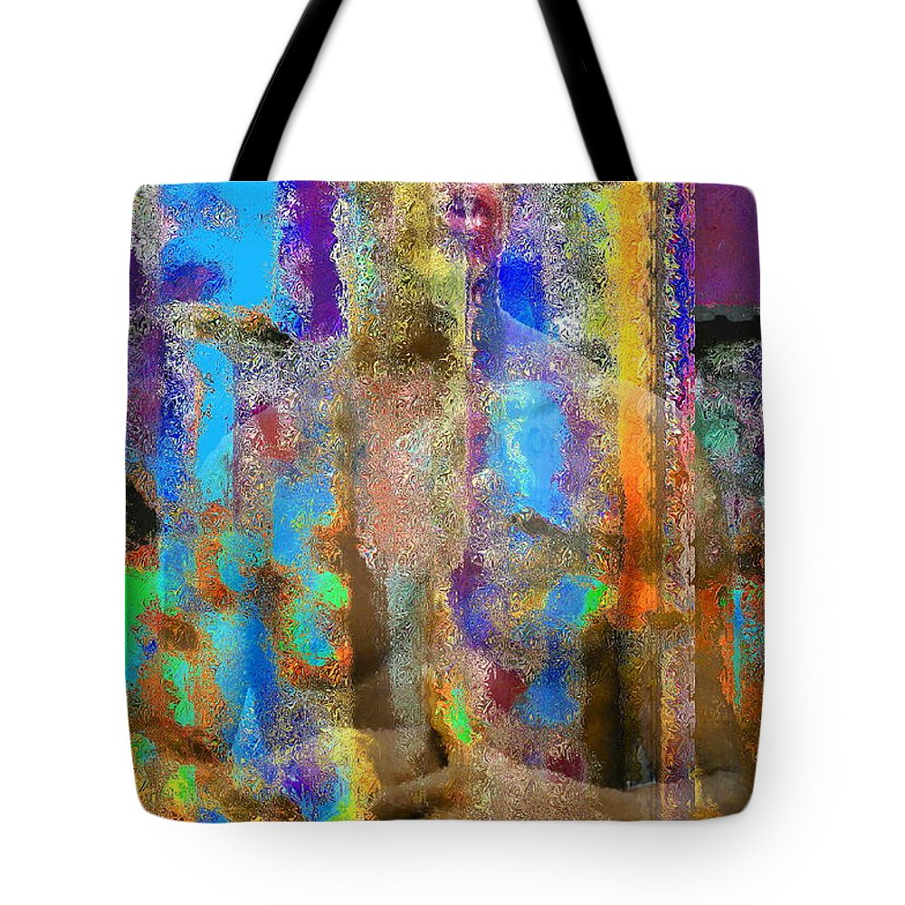 Portrait Tote Bag featuring the photograph Inner Forces by Gwyn Newcombe
