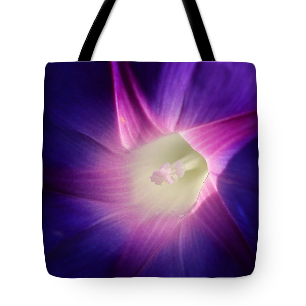 Inner Glow Tote Bag featuring the photograph Inner Glow by Ernie Echols