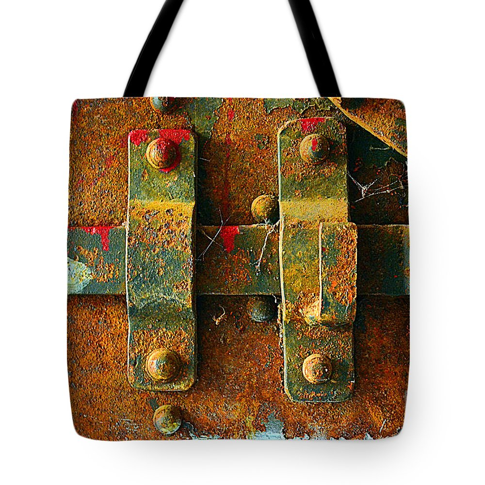 Abstract Tote Bag featuring the photograph Insecurity by Lauren Leigh Hunter Fine Art Photography