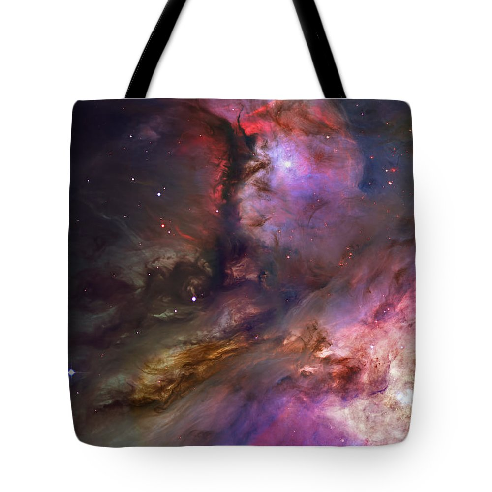 Messier 42 Tote Bag featuring the photograph Inside Orion by Ricky Barnard