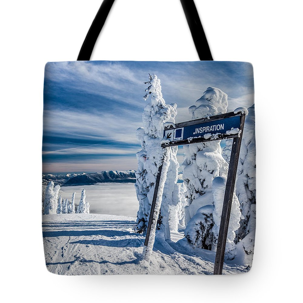 Inspiration Tote Bag featuring the photograph Inspiration by Aaron Aldrich