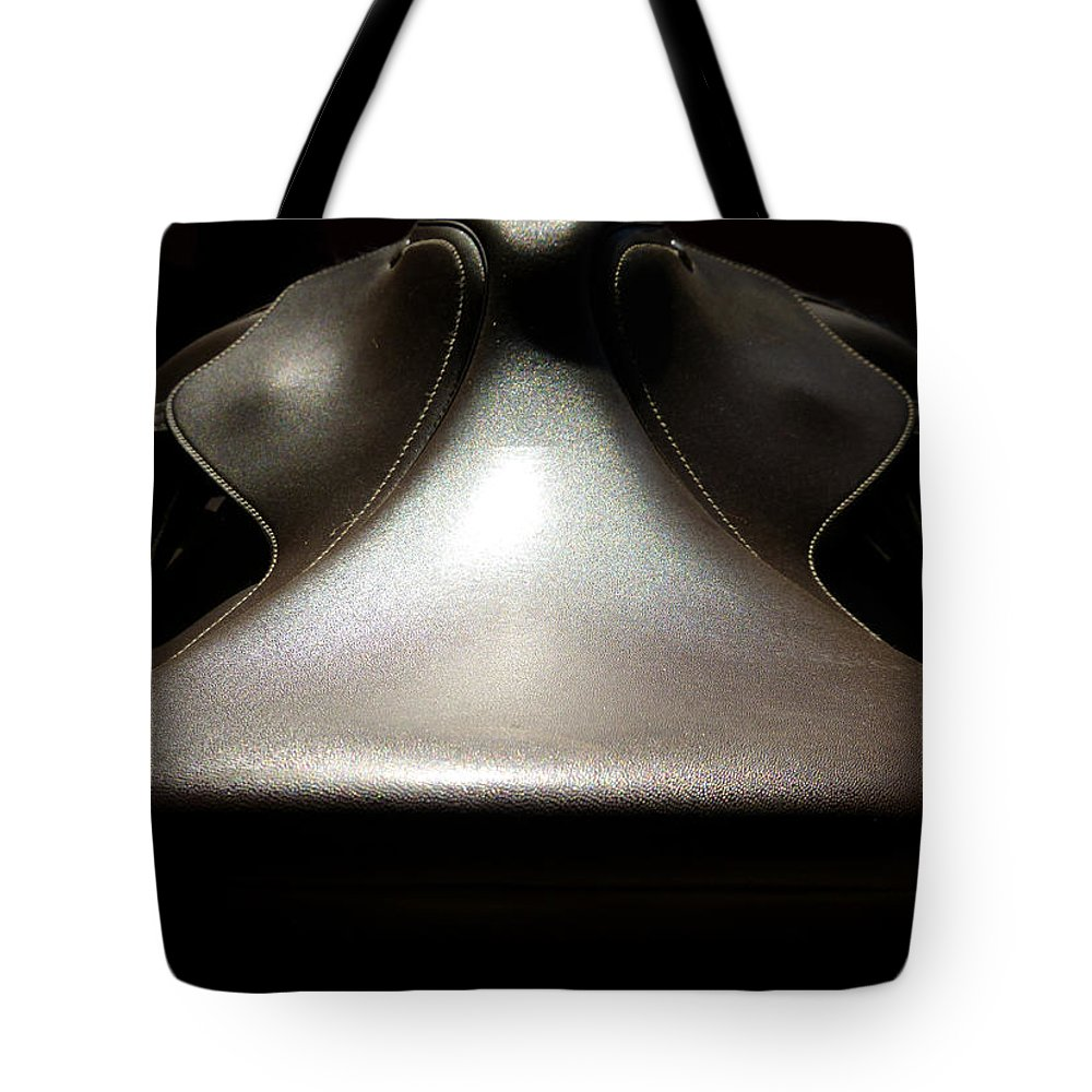 Horse Tote Bag featuring the photograph Instrumental Curves by Monique Morin Matson