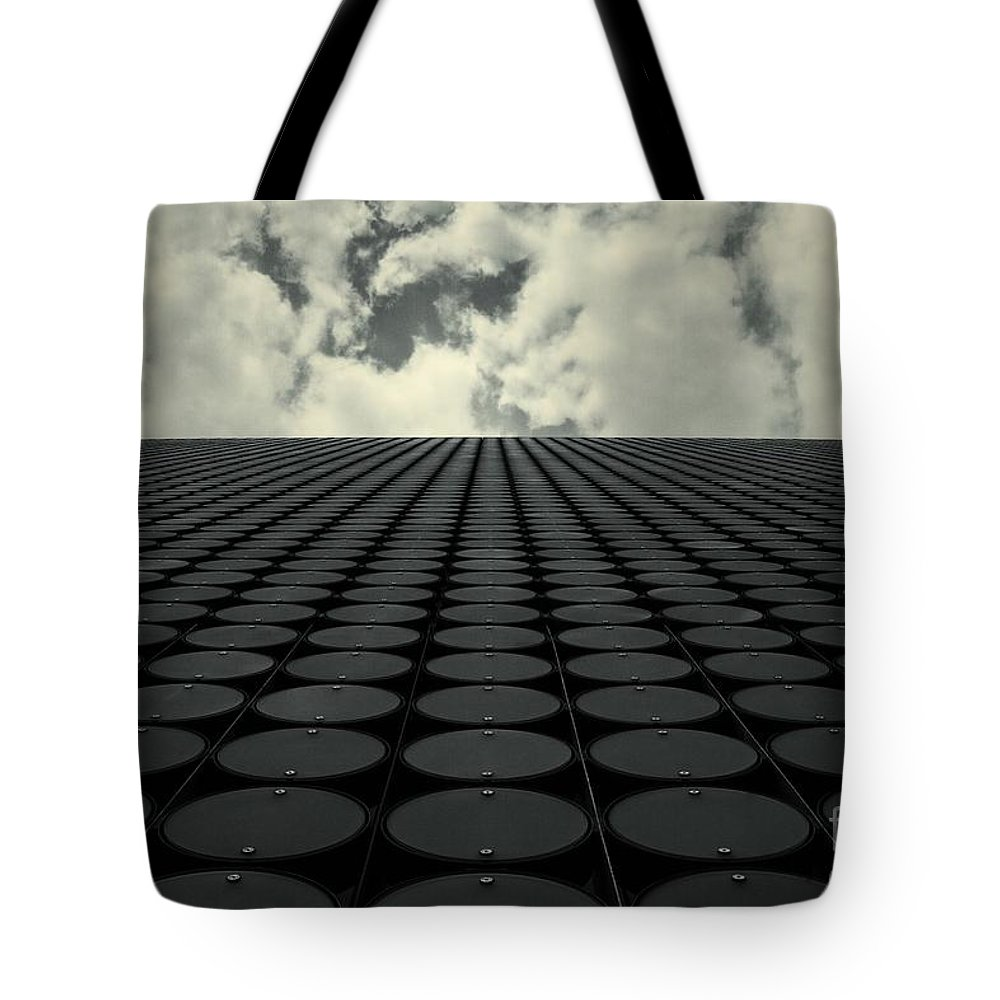 Architecture Tote Bag featuring the photograph Interdimensional by Andrew Paranavitana