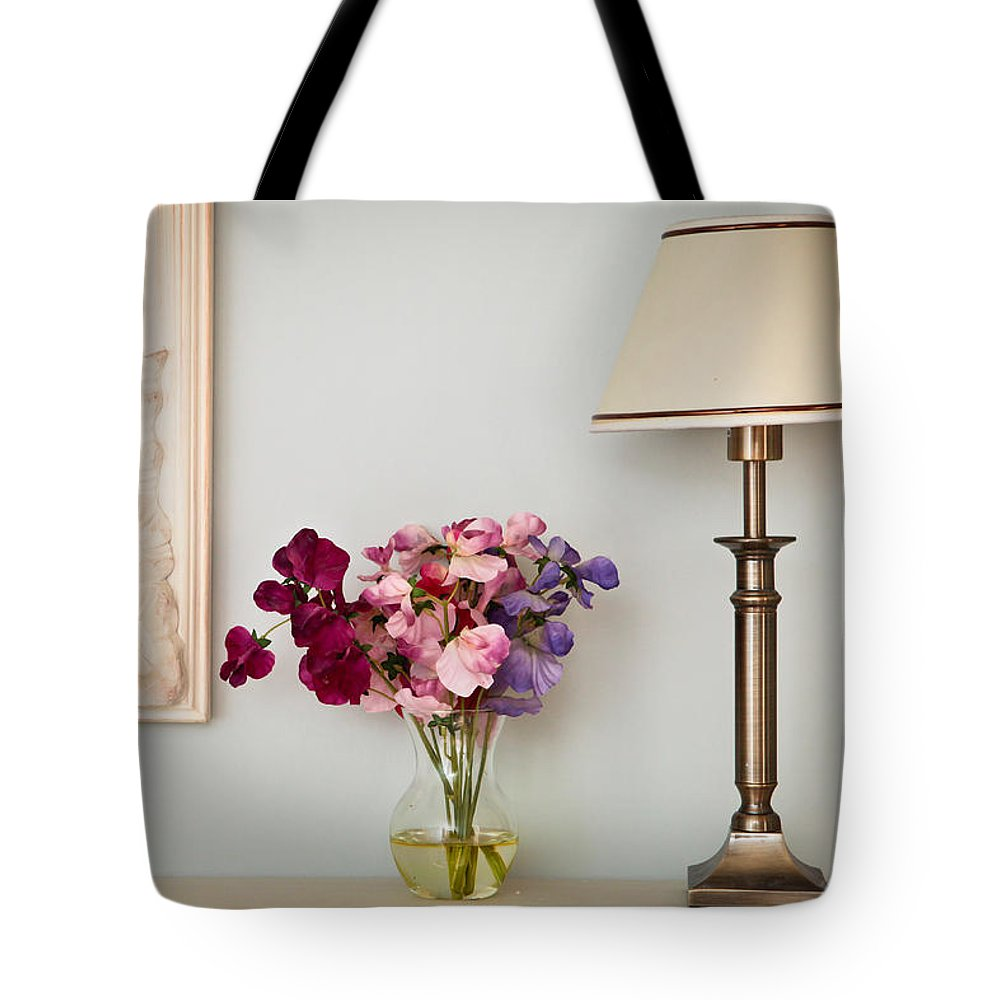 Bedroom Tote Bag featuring the photograph Interior Decor by Tom Gowanlock
