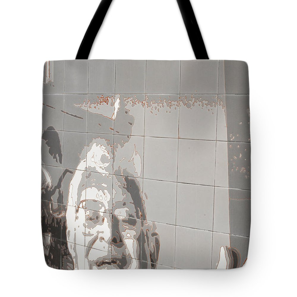 Interstate 10 Tote Bag featuring the photograph Interstate 10 Project Outtake_0010553 by Arthur BRADford Klemmer
