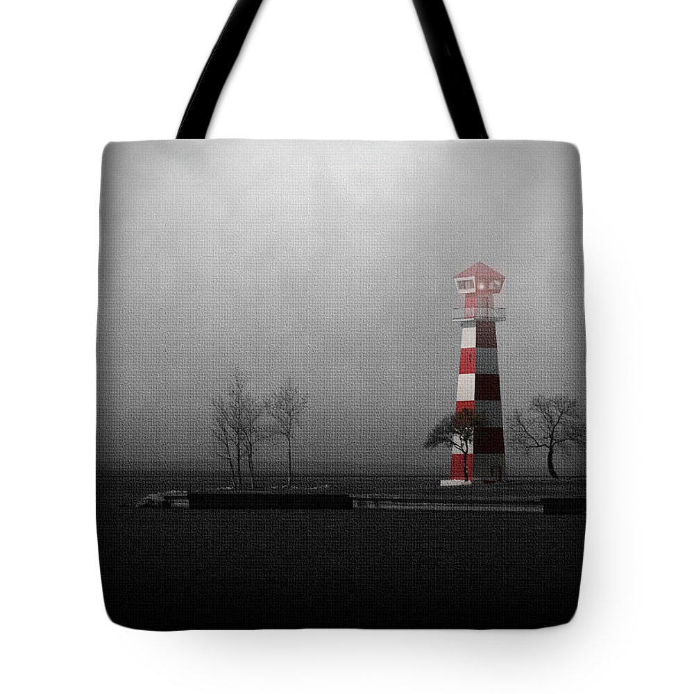 Beacon Tote Bag featuring the photograph Into The Light by Trish Mistric