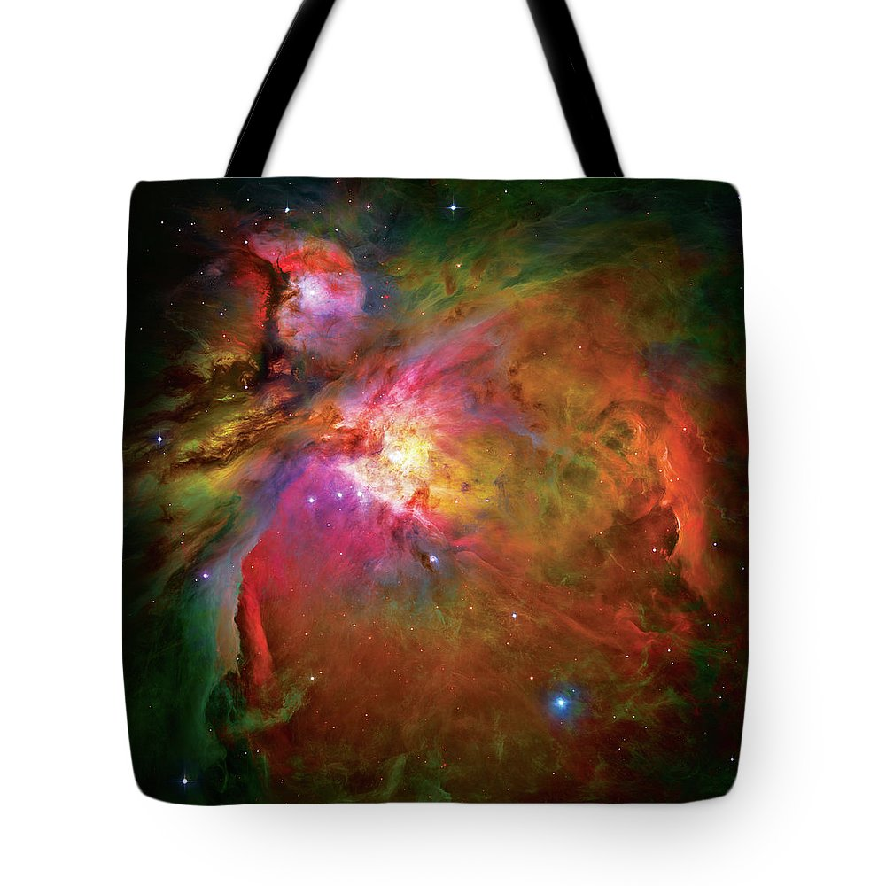 Orion Nebula Tote Bag featuring the photograph Into The Orion Nebula by Jennifer Rondinelli Reilly - Fine Art Photography