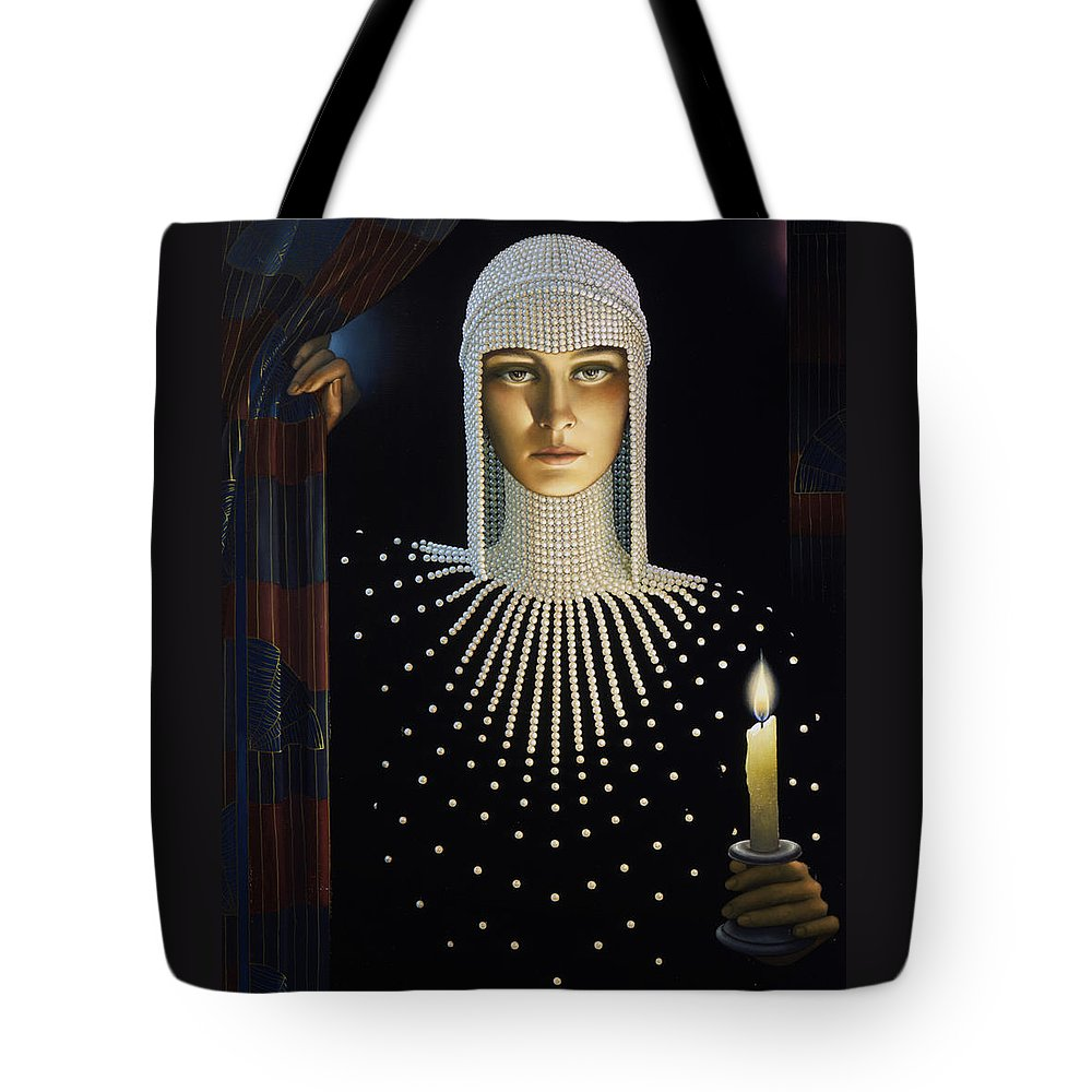 Spider Paintings Tote Bags