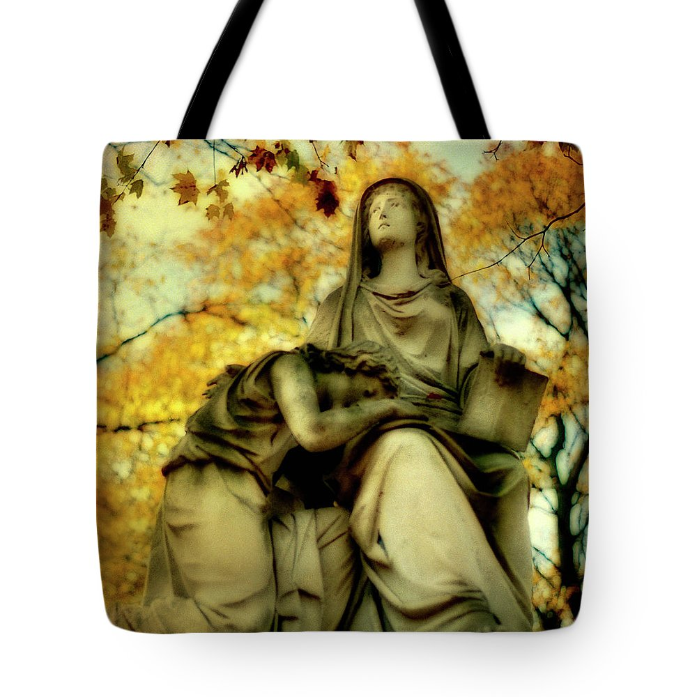 Fall Tote Bag featuring the photograph Invasion Of Autumn by Gothicrow Images