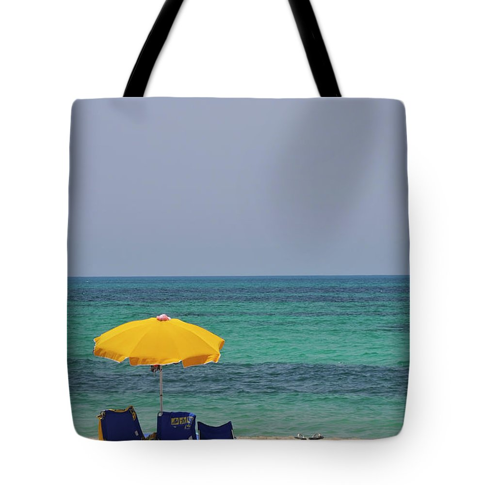 Tranquility Tote Bag featuring the photograph Ionian Sea In Apulia, Detail by Stefano Salvetti