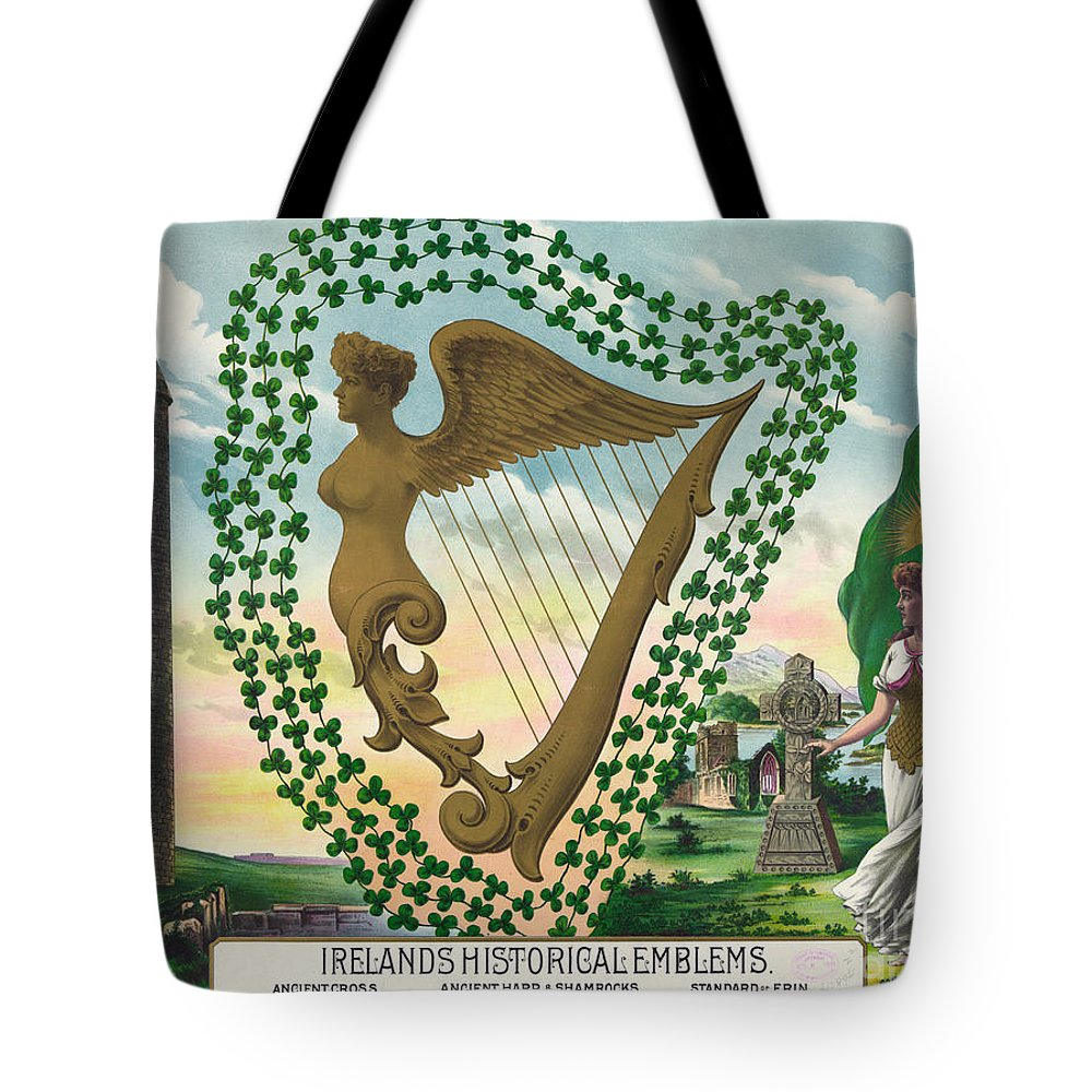 1894 Tote Bag featuring the painting Ireland 1894 by Granger