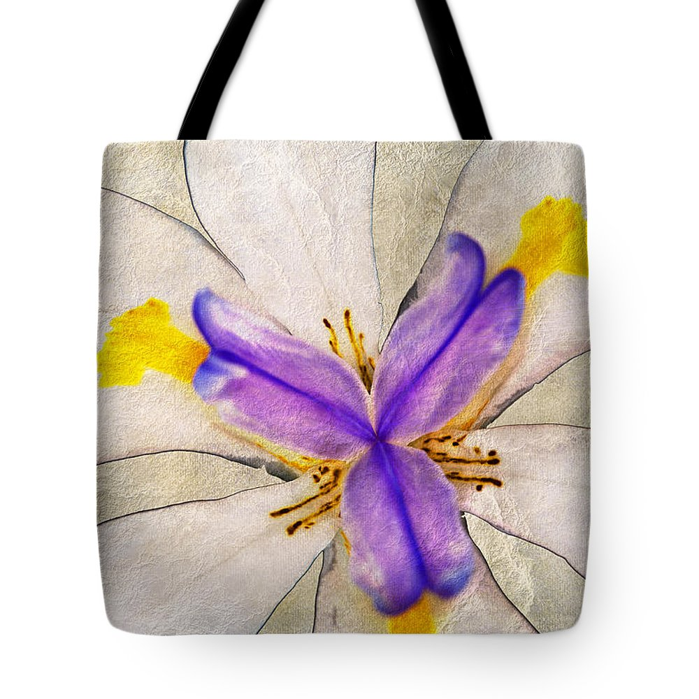 Lily Flower Tote Bag featuring the photograph Lily Flower Macro Photography by Ben Bassey