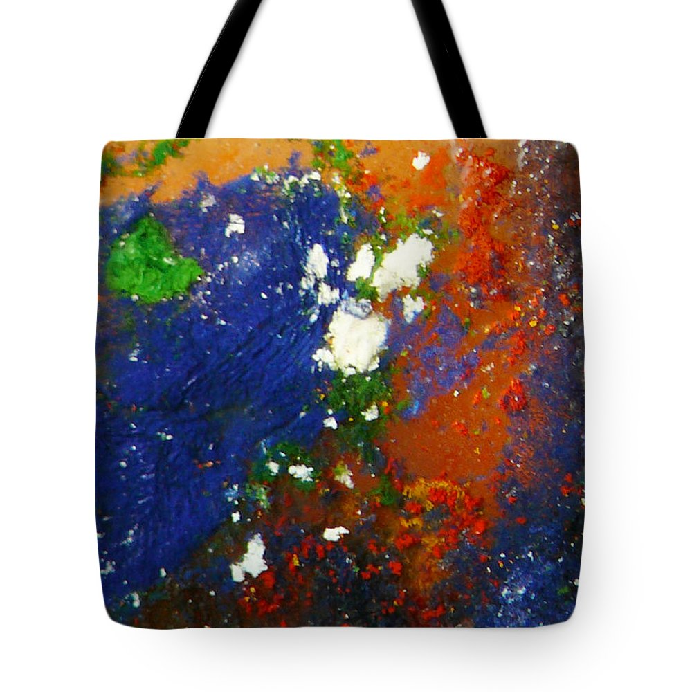 Ice-painting Tote Bag featuring the photograph Irish Brawler by Chris Sotiriadis