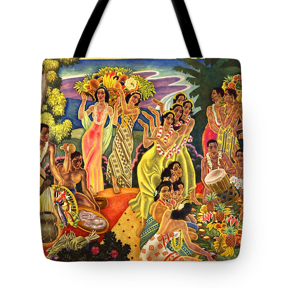 James Temple Tote Bags