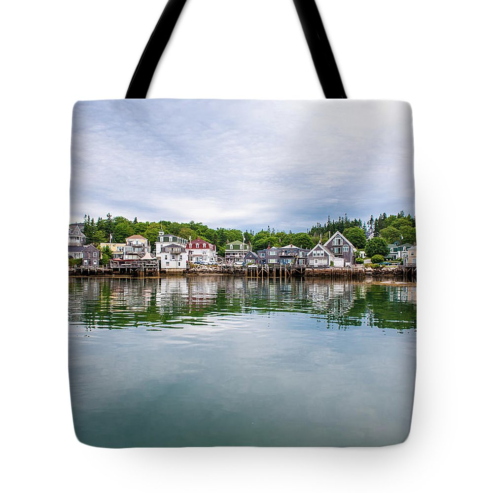 Town Tote Bag featuring the photograph Island Village by Edwin Remsberg