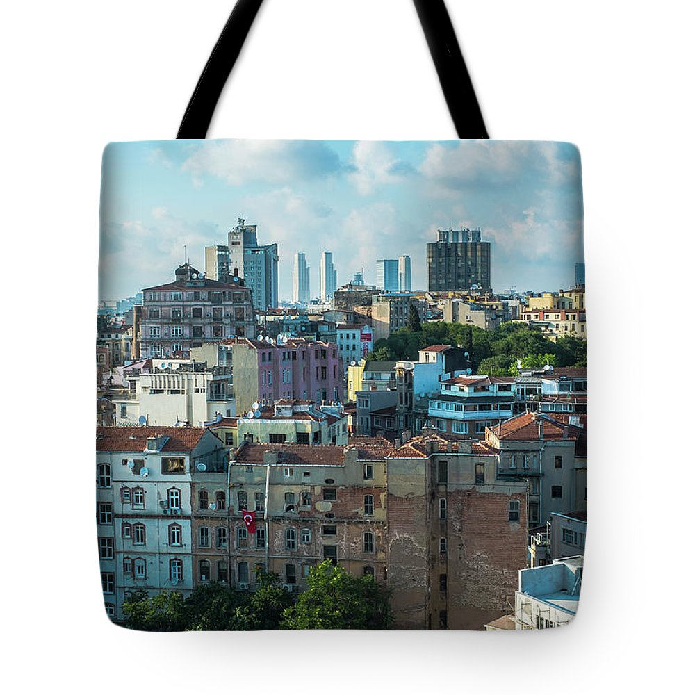Tranquility Tote Bag featuring the photograph Istanbul by Picture By Hamoon Nasiri