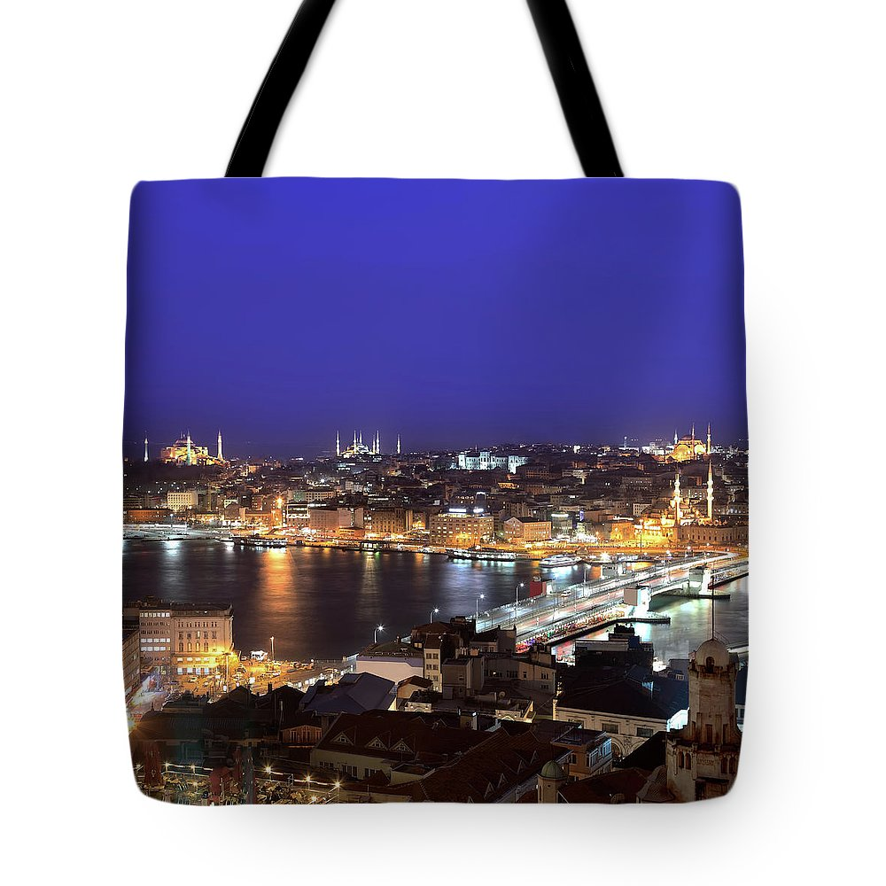 Istanbul Tote Bag featuring the photograph Istanbul by Tolga Tezcan