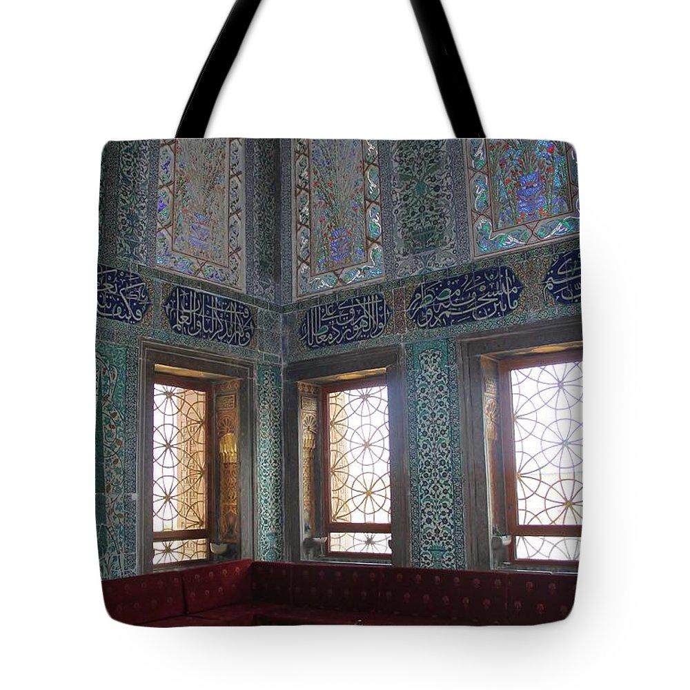 Topkapi Tote Bag featuring the photograph Istanbul Topkapi 3 by Mo Barton