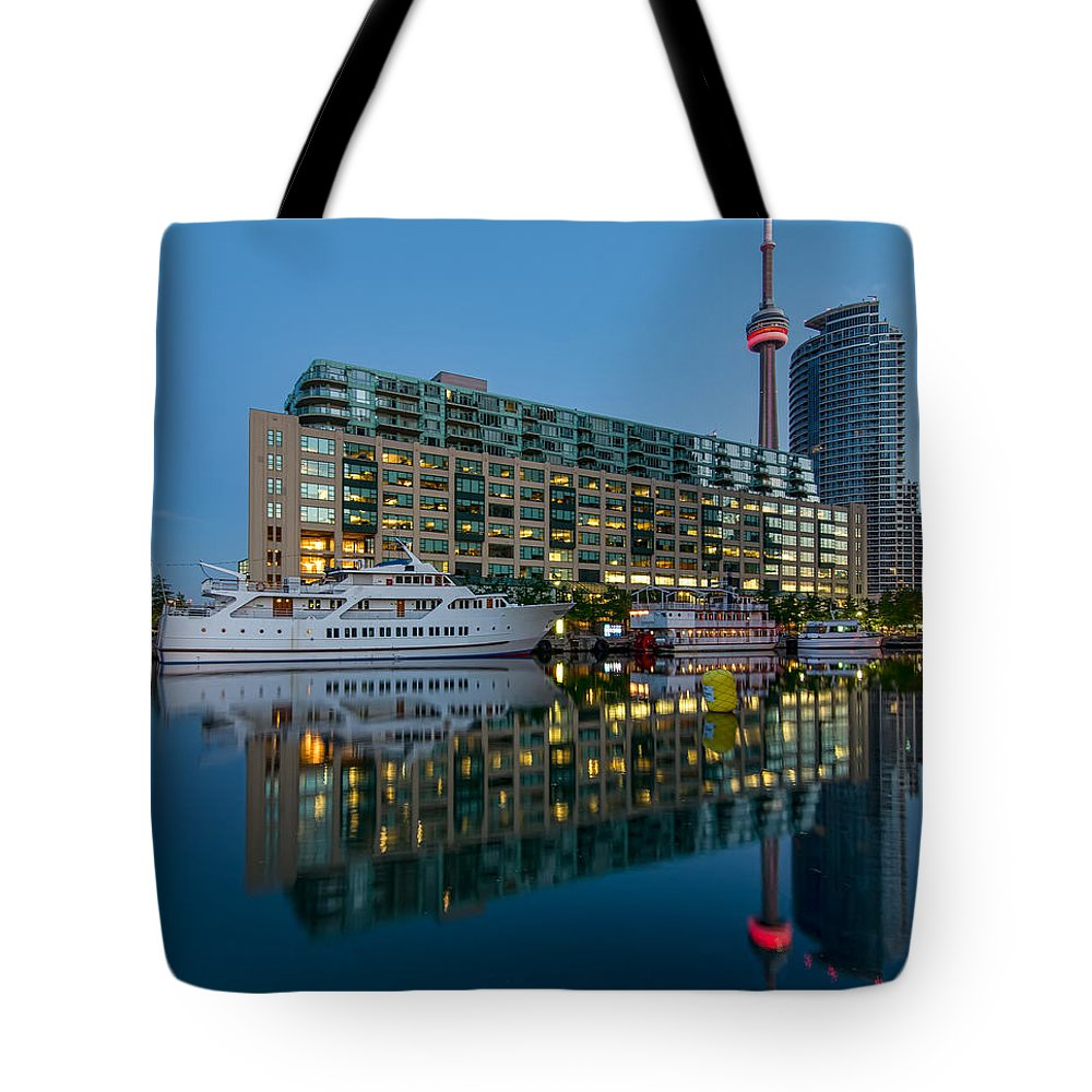 Boat Tote Bag featuring the photograph It Was Like This by James Wheeler
