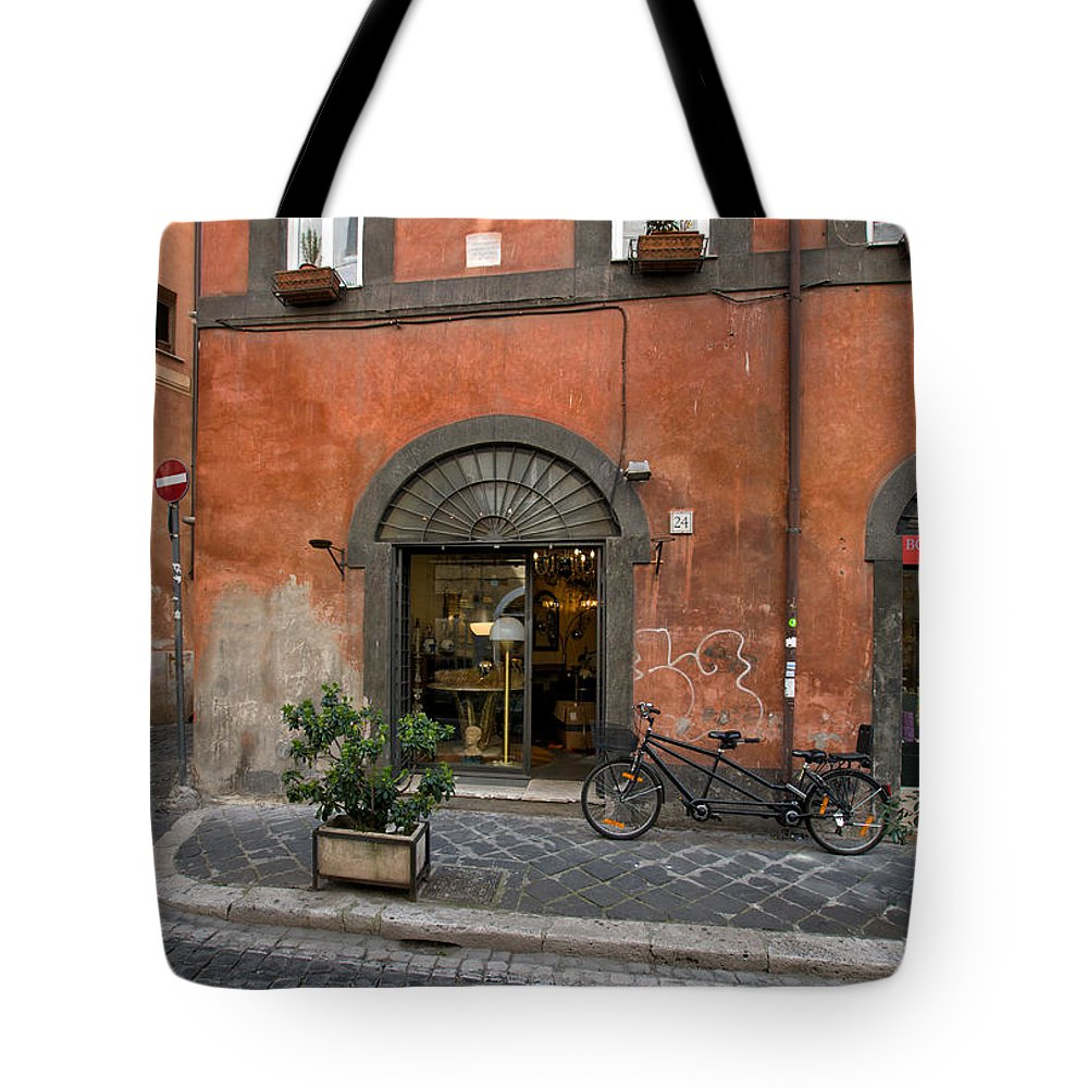 Italy Tote Bag featuring the photograph Italian Style by Ayhan Altun