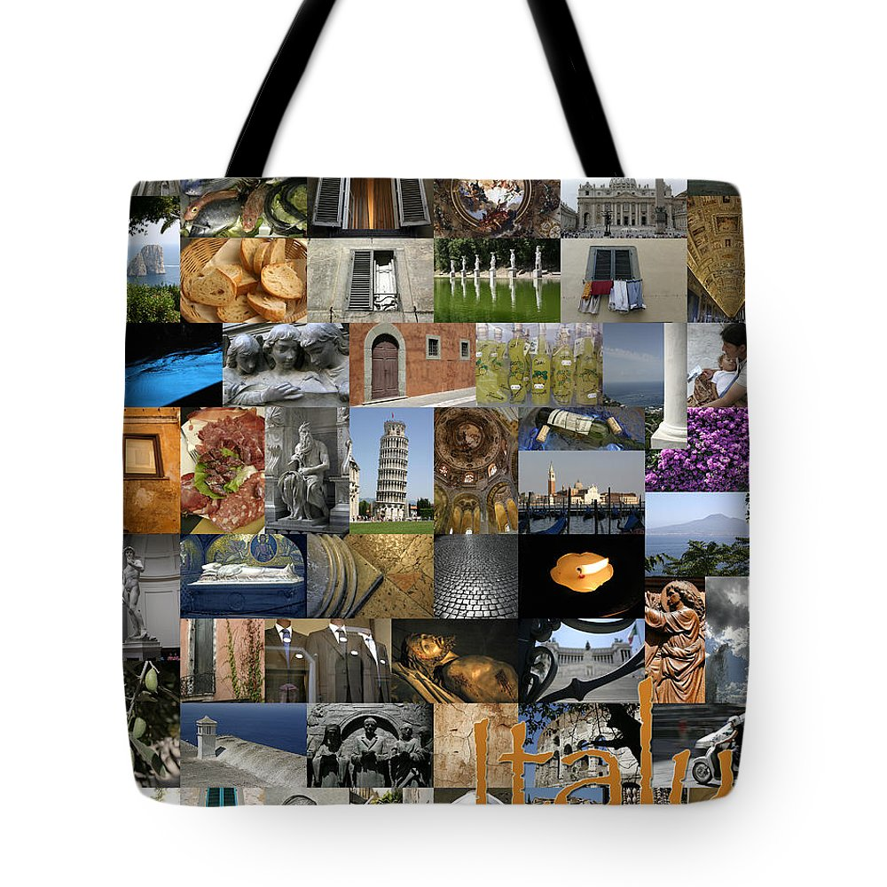 Kg Tote Bag featuring the photograph Italy Poster by KG Thienemann