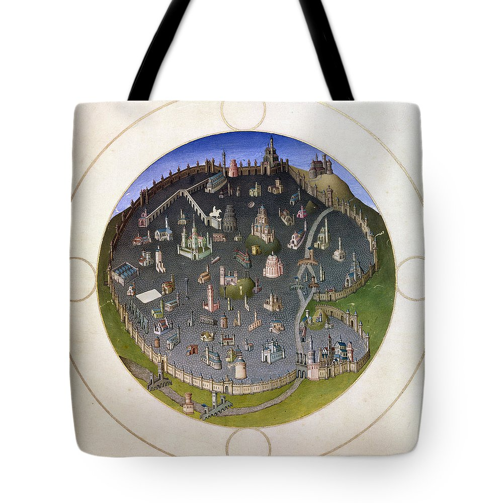 15th Century Tote Bag featuring the photograph Italy: Rome, 15th Century by Granger