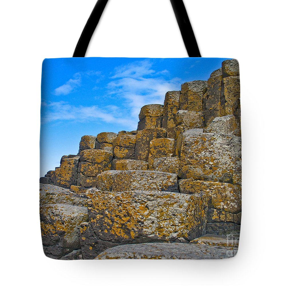 Giants Causeway Tote Bag featuring the photograph It's A Small Step For Giants by Brothers Beerens