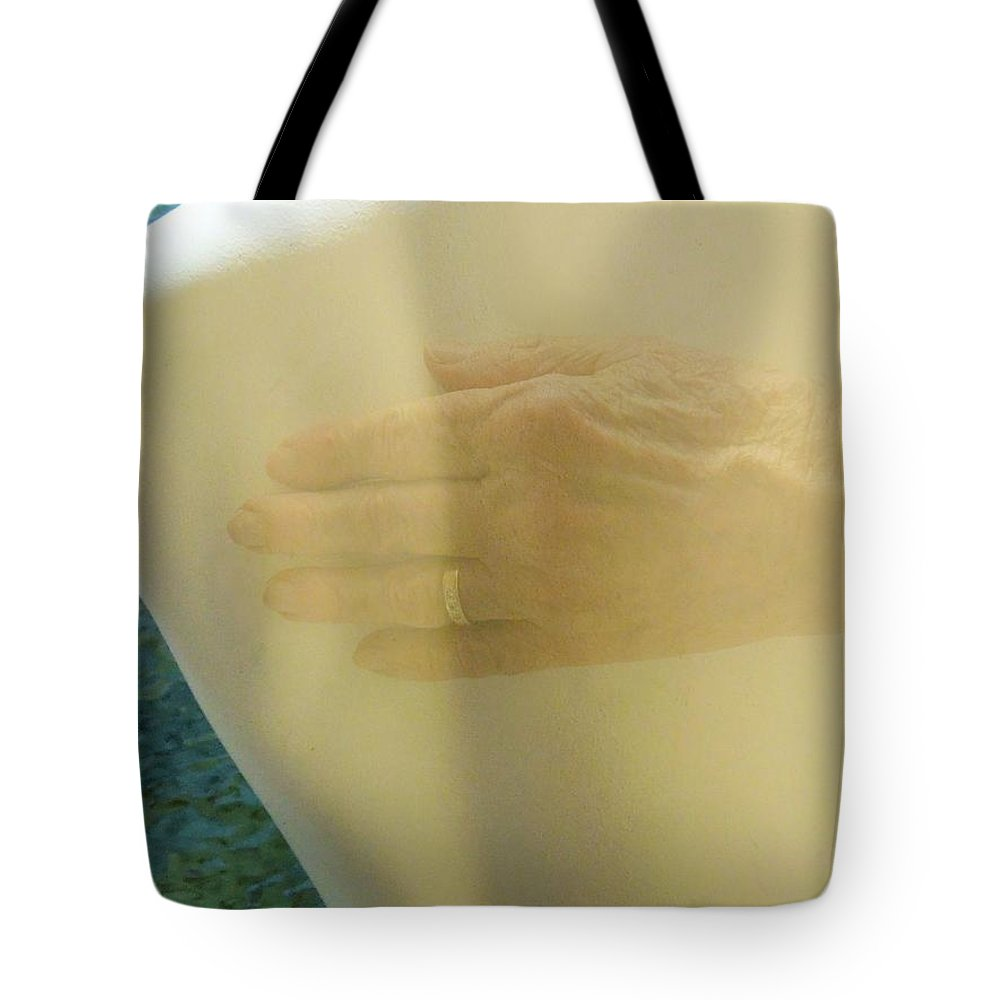 Ghost Tote Bag featuring the photograph I've Hungered For Your Touch by Renee Trenholm