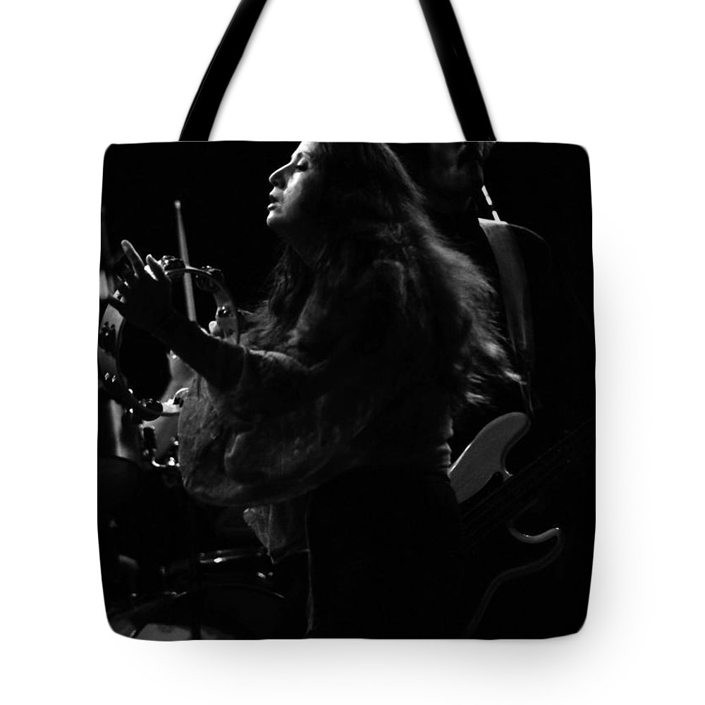 Maria Muldaur Tote Bag featuring the photograph J G B #13 by Ben Upham