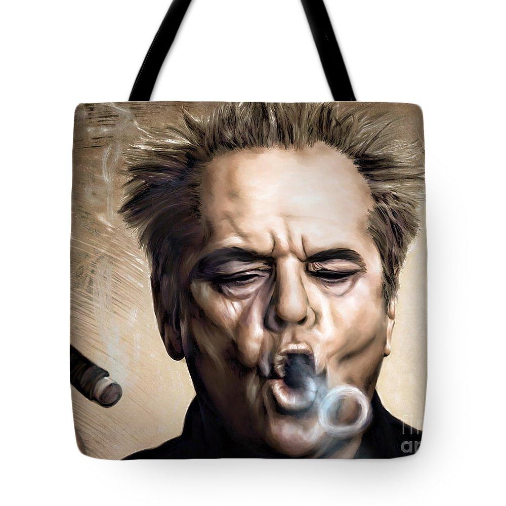 Jack Nicholson Tote Bags