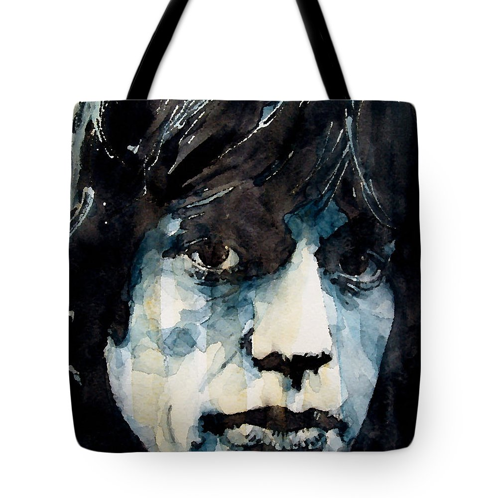 Mick Jagger Tote Bags