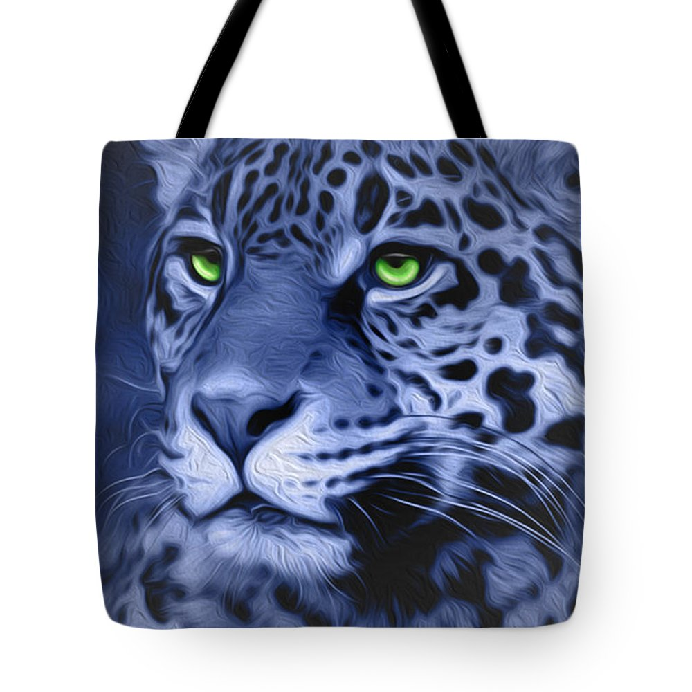 Animals Tote Bag featuring the painting Jaguar by Melissa King